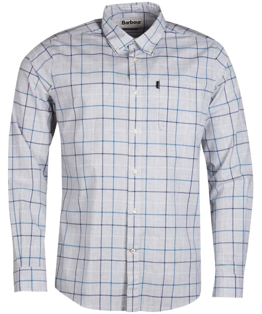 Men's Barbour Tattersall 1 Tailored Shirt - Ecru