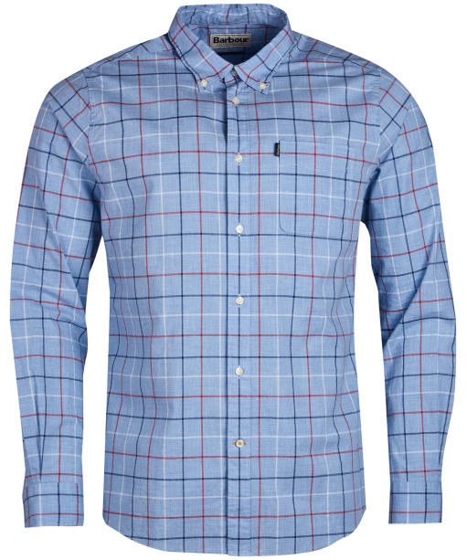 Men's Barbour Tattersall 1 Tailored Shirt - Red