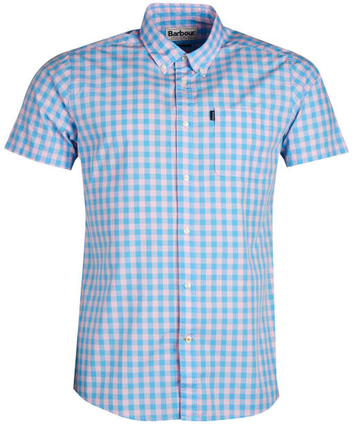 Men's Barbour Gingham 5 Shirt - Pink