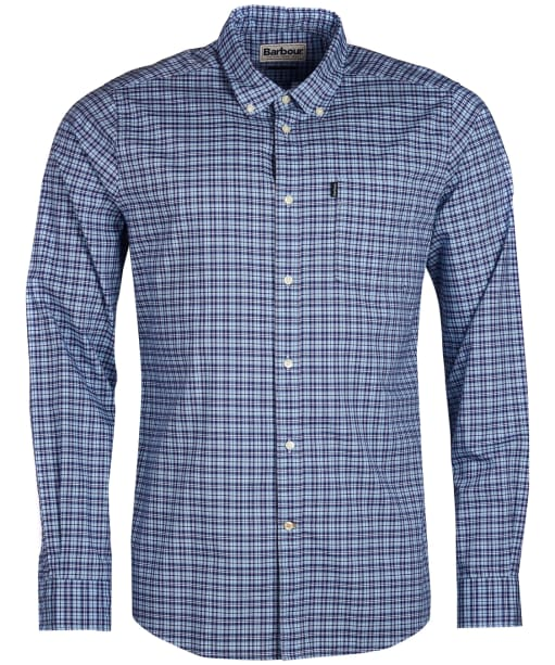 Men's Barbour Highland 1 Tailored Shirt - Sky