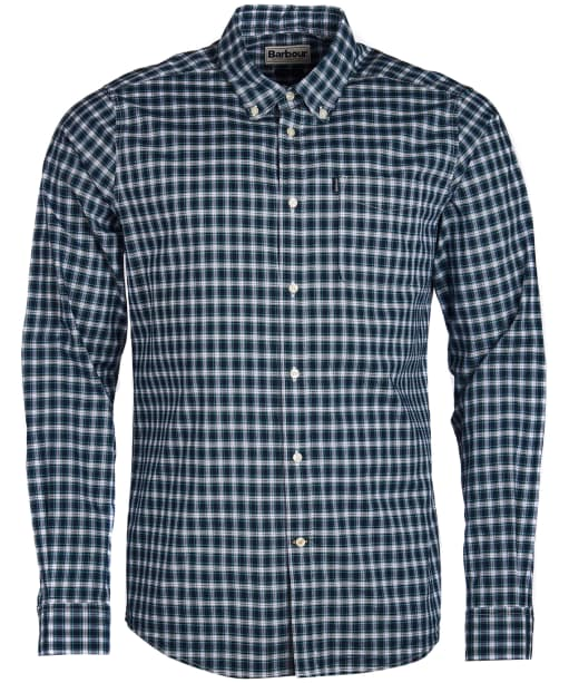 Men's Barbour Highland 1 Tailored Shirt - Inky Blue