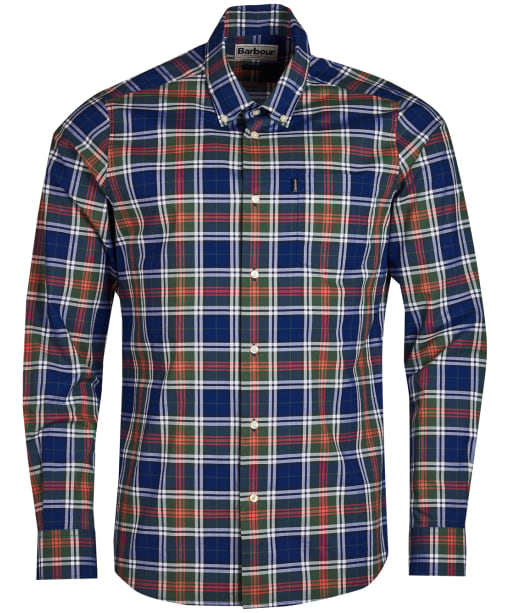 Men's Barbour Highland 6 Tailored Shirt - Inky Blue