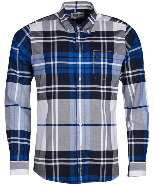 Men's Barbour Highland 2 Tailored Shirt - Electric Blue