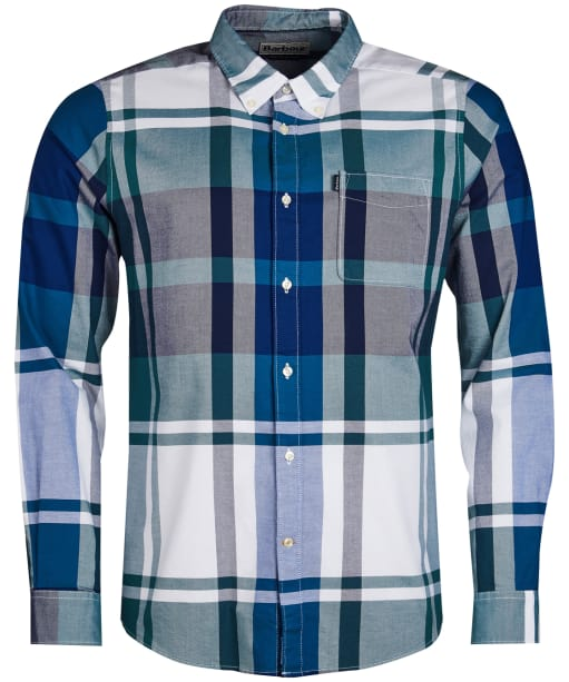 Men's Barbour Highland 2 Tailored Shirt - Green