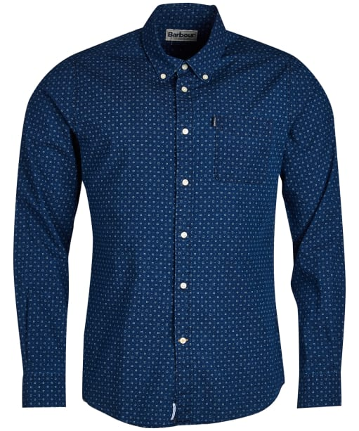 Men's Barbour Indigo 1 Tailored Shirt - Indigo