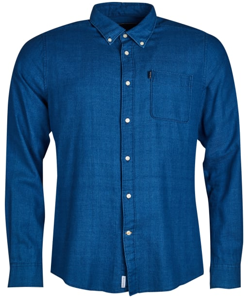 Men's Barbour Indigo 2 Tailored Shirt - Indigo