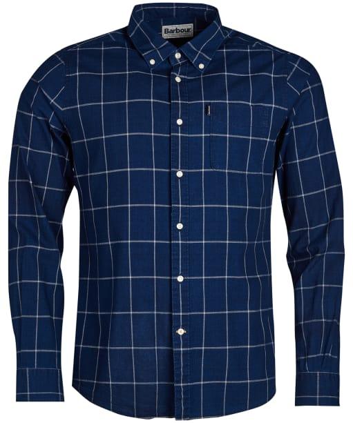 Men's Barbour Indigo 3 Tailored Shirt - Indigo