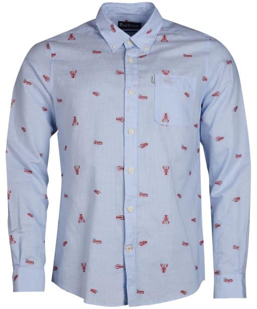 Men's Barbour Lobster Shirt - Admiral Blue