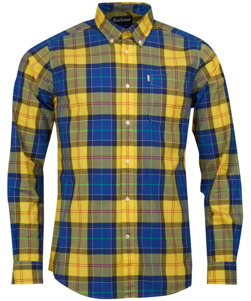 Men's Barbour Toward Shirt - Yellow
