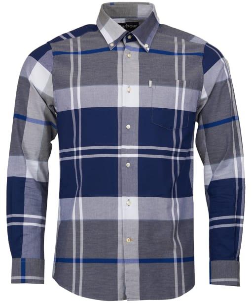 Men's Barbour Brothwell Shirt - Grey Marl