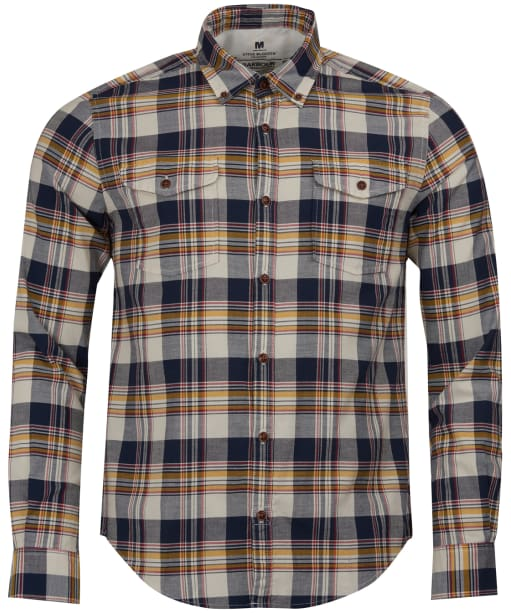 Men's Barbour Steve McQueen King Shirt - Navy