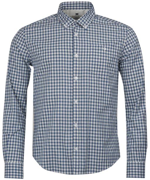 Men's Barbour Steve McQueen Gingham Shirt - Antique White