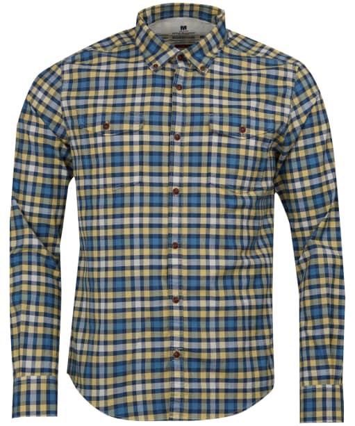 Men's Barbour Steve McQueen Output Check Shirt - Yellow