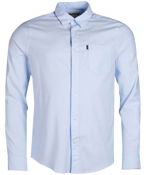 Men's Barbour Oxford 2 Slim Fit Shirt - Sky