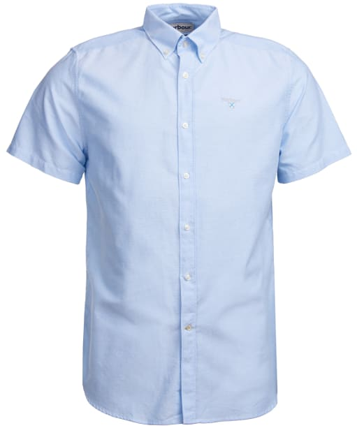 Men's Barbour Oxford 3 Tailored Shirt - Sky