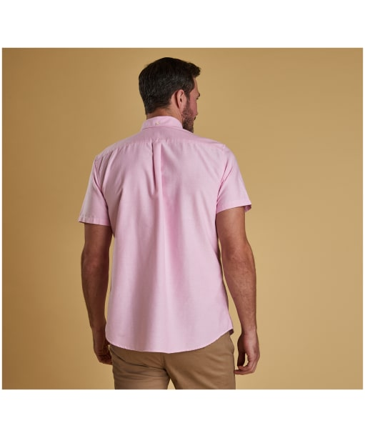 Men's Barbour Oxford 3 Tailored Shirt - Pink