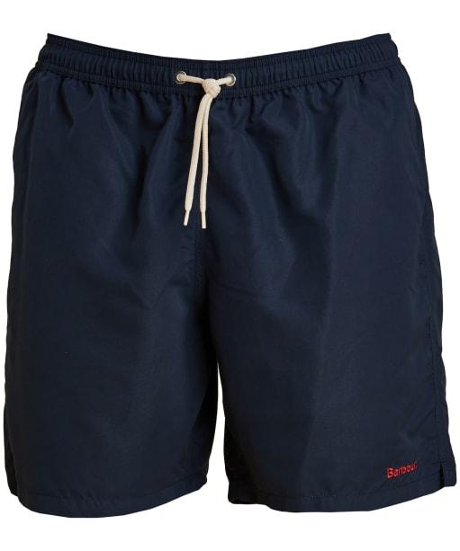 "Men's Barbour Logo 7"" Swim Shorts - Navy"