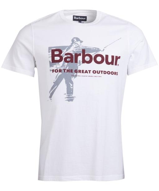 Men's Barbour Outdoors Tee - White