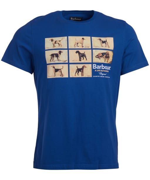 Men's Barbour Pedigree Tee - Atlantic Blue