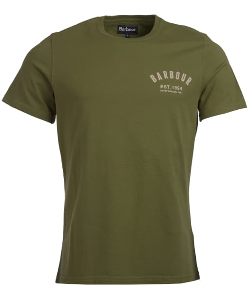 Men's Barbour Preppy Tee - Burnt Olive