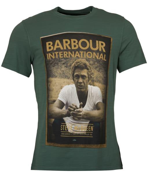Men's Barbour Steve McQueen Relax Tee - Washed Khaki