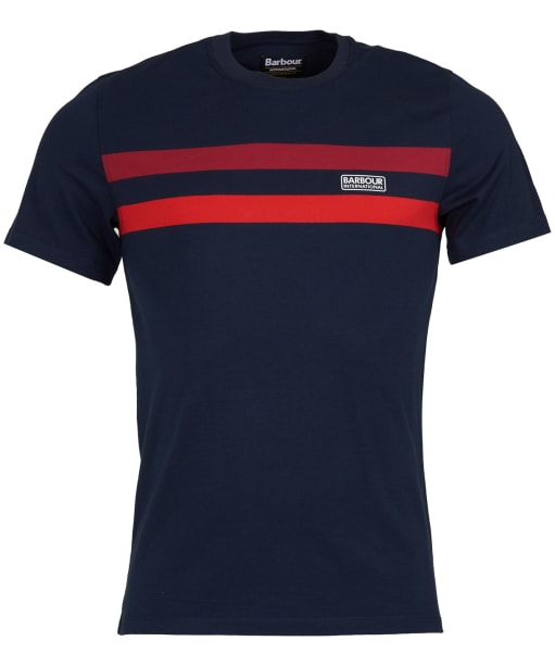 Men's Barbour International Circuit Tee - Navy