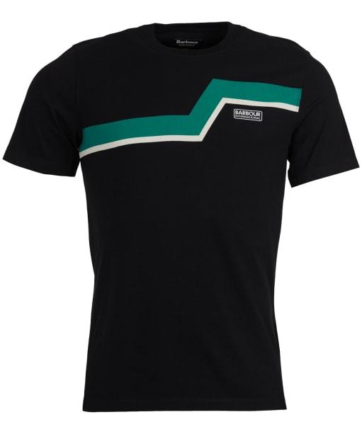 Men's Barbour International Angle Tee - Black