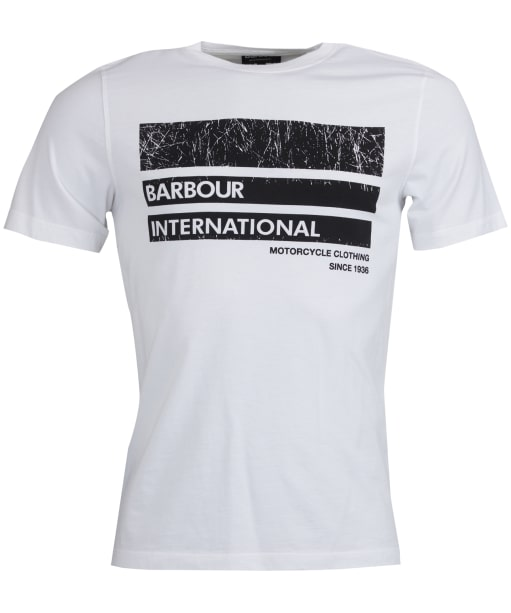 Men's Barbour International Distort Tee - White