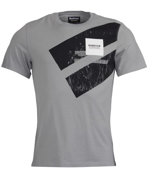 Men's Barbour International Gauge Tee - Battle Ship Grey