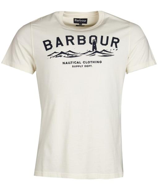 Men's Barbour Bressay Tee - Whisper White