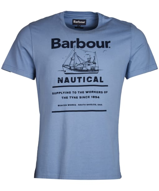 Men's Barbour Davan Tee - Admiral Blue