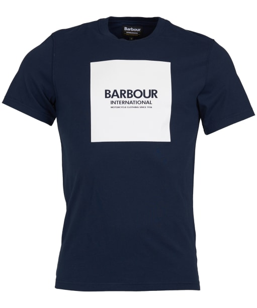 Men's Barbour International Block Tee - Navy