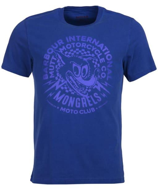Men's Barbour International Mutt Tee - Aragon Blue