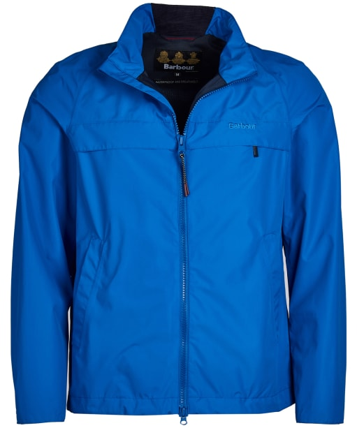 Men's Barbour Skerries Waterproof Breathable Jacket - Frost Blue