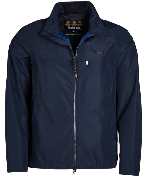 Men's Barbour Skerries Waterproof Breathable Jacket - Navy
