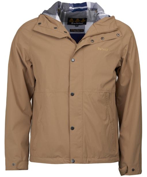 Men's Barbour Noden Waterproof Jacket - Sand