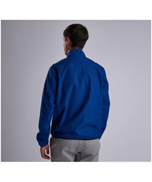 Men's Barbour International Ranson Waterproof Jacket - Charge Blue