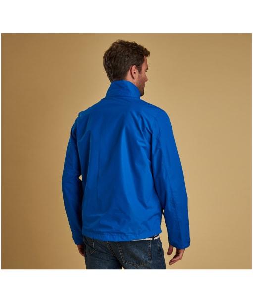 Men's Barbour Rye Waterproof Jacket - Electric Blue