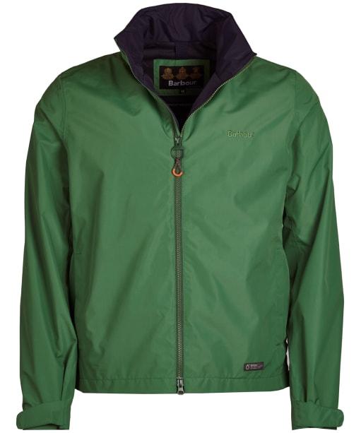 Men's Barbour Rye Waterproof Jacket - Lawn Green