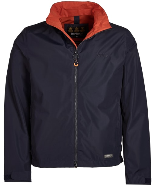 Men's Barbour Rye Waterproof Jacket - Navy