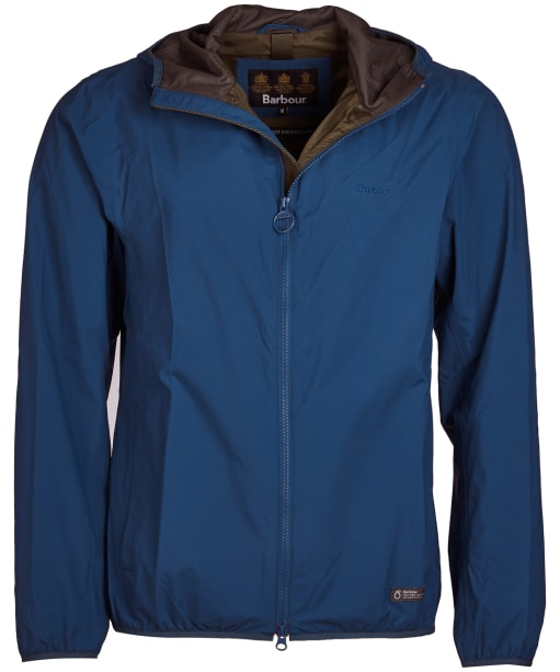 Men's Barbour Cairn Waterproof Jacket - Peacock Blue