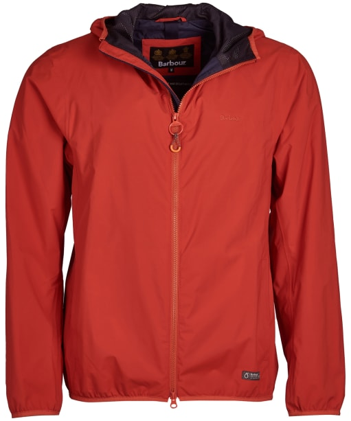 Men's Barbour Cairn Waterproof Jacket - Sunset Orange