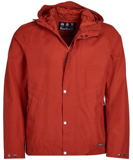 Men's Barbour Charlie Waterproof Jacket - Sunset Orange