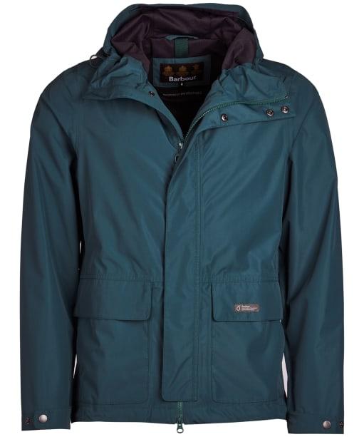 Men's Barbour Foxtrot Waterproof Jacket - Spruce Green