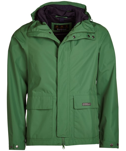 Men's Barbour Foxtrot Waterproof Jacket - Lawn Green