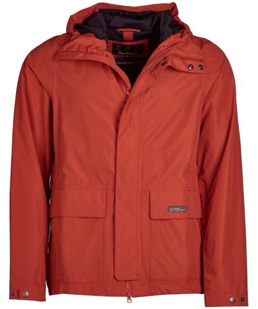 Men's Barbour Foxtrot Waterproof Jacket - Sunset Orange