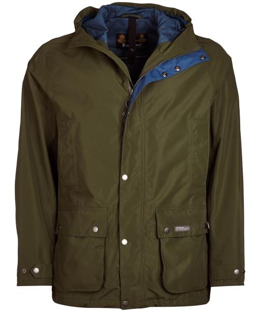 Men's Barbour Camber Waterproof Jacket - Rifle Green