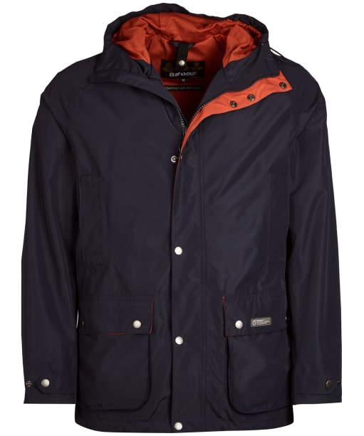 Men's Barbour Camber Waterproof Jacket - Navy