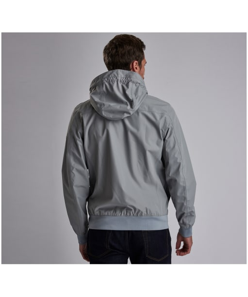 Men's Barbour International Eavers Jacket - Soft Grey