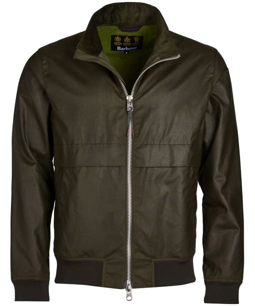 Men's Barbour Rona Waxed Jacket - Archive Olive